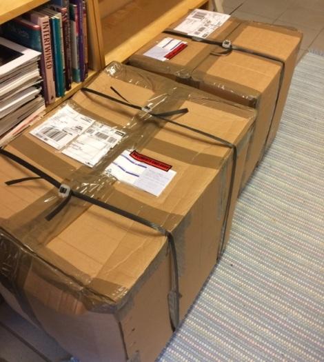 Pakker fra Shetland :-)