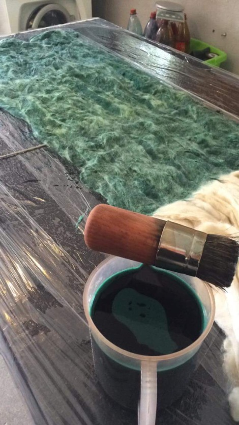 smaragdsøfarvning